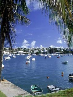 "Harbor in Hamilton, Bermuda  As Mark Twain said, ""Sometimes a dose of Bermuda is just what the doctor ordered."""