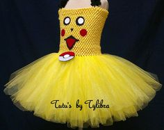 Pikachu Crochet Bikini Top by 3FishAndALadybug on Etsy