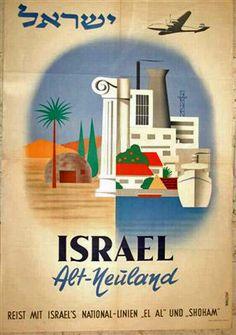 el l israel poster - Google Search