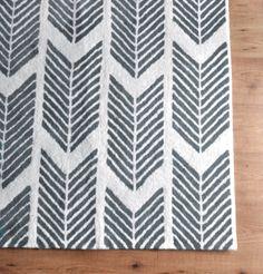 Grey Arrows Rug