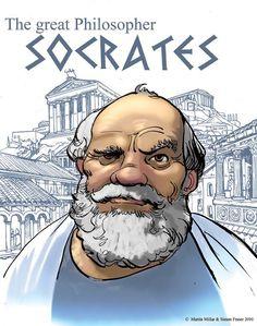 Image result for socrates cartoon pics