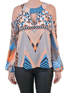 blusa vazada no ombro para o verão Casual Wear, Casual Outfits, Cute Outfits, Printed Blouse, Refashion, African Fashion, Blouse Designs, Plus Size Fashion, Ideias Fashion