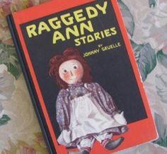 Raggedy Ann Stories by Johnny Gruelle Vintage Childrens Book