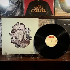 """EX -CULTMidnight Passenger """"I'm the voice from the sewer..I'm the suicide cruiser...I'm the Midnight passenger."""" Can't stop playing this record!  Check out GøGGs new band from Ty Segall. Ex Cult and Fuzz members new band rips.  #excult #vinylcollection #vinylcollective #vinyl #vinyligclub #vinylig #vinylcollector #nowspinning #onmyturntable by cultofdoom"""