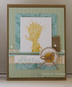 Truly Grateful by catrules - Cards and Paper Crafts at Splitcoaststampers