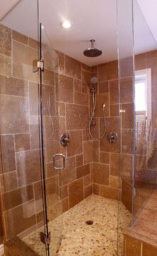 Traditional Bathroom Walk-in Showers Design Ideas, Pictures, Remodel, and Decor - page 8