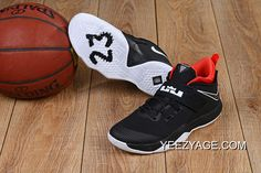 premium selection 99fc6 c1b52 Nike LeBron Ambassador 10 Black White-Red Latest