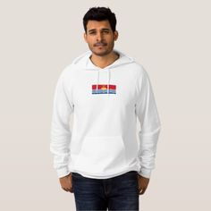 Mens Flag of Sao Tome and Principe Hoodie Mens Fleece, Fleece Hoodie, Pullover, American Apparel, Trendy Fashion, Kids Outfits, Fitness Models, Graphic Sweatshirt, Flags