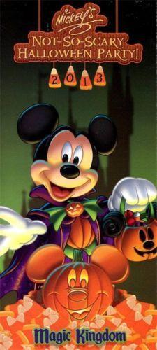 2013 Mickey's Not So Scary Halloween Party