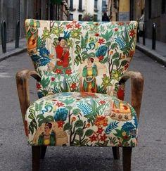 Frieda Kahlo chair