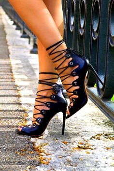 5c7398104051c59cea76dd13b988f934Strap Shoes by Azzedine Alaïa