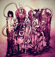 Creepypasta family