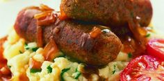 Olive and Sun-dried Tomato Sausages   Demuths Cookery School #vegetarian #vegan #glutenfree