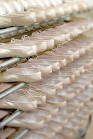 Repetto artisan school, makers of ballet shoes.