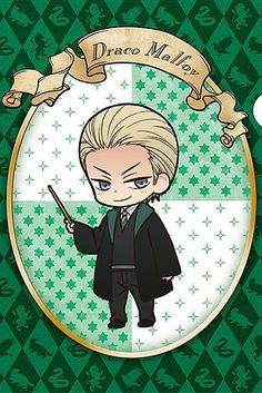 Pin for Later: These Harry Potter Anime Illustrations Are So Cute, You Might Pass Out Draco Malfoy Harry Potter World, Theme Harry Potter, Harry Potter Merchandise, Harry Potter Universal, Harry Potter Characters, Anime Characters, Harry Potter Disney, Anime Yugioh, Anime K