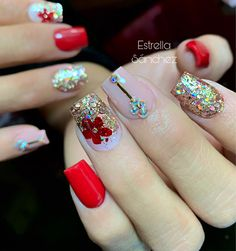 49 glitter gel nail designs for short nails for spring 2019 11 – nothingideas…. Marble Acrylic Nails, Cute Acrylic Nails, Cute Nails, Pretty Nails, My Nails, Short Nail Designs, Gel Nail Designs, Glitter Gel Nails, Finger