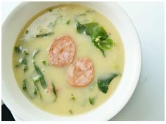 Portuguese soup! Caldo Verde is tasty and easy to make!
