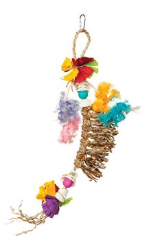 Prevue Pet Products Tropical Teasers Knots of Fun Bird Toy 62510 3 W x H Parrot Toys, Conure, Bird Toys, Parrots, Pet Products, Knots, Tropical, Fun, Parrot