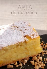 Tarta de manzana, con poca harina y azucar / Apple pie with little flour and sugar Apple Desserts, Apple Recipes, Sweet Recipes, Cake Recipes, Dessert Recipes, Mexican Food Recipes, Cupcake Cakes, Sweet Treats, Food And Drink