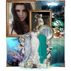 """Olympus Cast: Amphitrite"" by anna-nemesis on Polyvore"