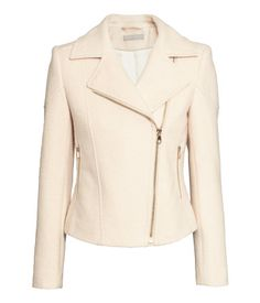 Wool-blend Biker Jacket   H&M US