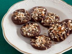 Get Aarón Sánchez's Cinnamon-Spiced Hot Chocolate Cookies Recipe from Food Network