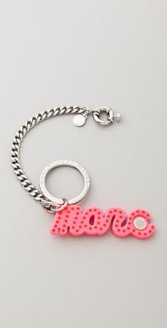 0df69c801548c1 Marc by Marc Jacobs Marc Script Bag Charm / Keychain Style #:MARCJ42020  Script,
