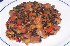 Venison And Wild Rice Casserole Recipe - Genius Kitchen Wild Rice Recipes, Deer Recipes, Game Recipes, Healthy Recipes, Healthy Food, Pot Roast Brisket, Beef Tenderloin Roast, Pork Roast, Dinner Casserole Recipes