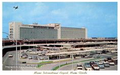 Early 1960s - Miami International Airports new 20th Street Terminal