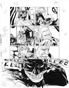 BATMAN: YEAR 100 #3 PAGE 18 ( 2006, PAUL POPE ) Comic Art