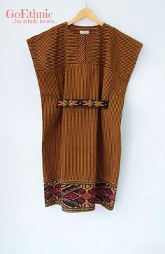 Baju Blouse Batik, Batik Dress, Blouse Dress, Batik Fashion, Boho Fashion, Fashion Looks, Womens Fashion, African Wear, African Fashion