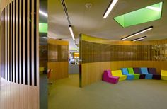 Great American Library piece on library spaces. I particularly liked this space in DC Public Library system's Francis A. Gregory branch great space and color.