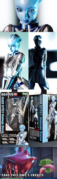 Mass Effect (it should have said shut up and take this one's credits)