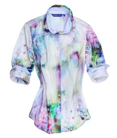 #shopnow for $238 OBO on #ebay! #LongSleeves #Casual #Abstract #FloralPrint #Blouse #Womens size MEDIUM