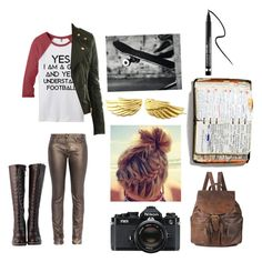 My OC for gravity falls by sea-sky-stars on Polyvore featuring polyvore fashion style CO Faith Connexion DimeCity Forever 21 Clinique Nikon Peek clothing OC fangirl GravityFalls