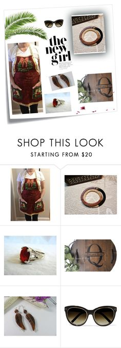 """""""Amazing gifts on Etsy"""" by therusticpelican ❤ liked on Polyvore featuring Post-It, Chloé, modern, contemporary, rustic and vintage"""