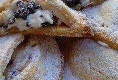 """Spugnette"" al limoncello Ricotta, Italian Chocolate, Italian Pastries, Calzone, Mini Desserts, Italian Recipes, Waffles, Biscuits, French Toast"