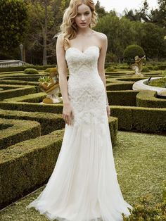 I just listed my Enzoani wedding dress for sale. Check it out.