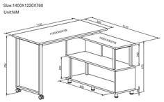 Piranha PC15g Graphite Black Folding Compact Storage Computer desk for the Home Office: Amazon.co.uk: Kitchen & Home