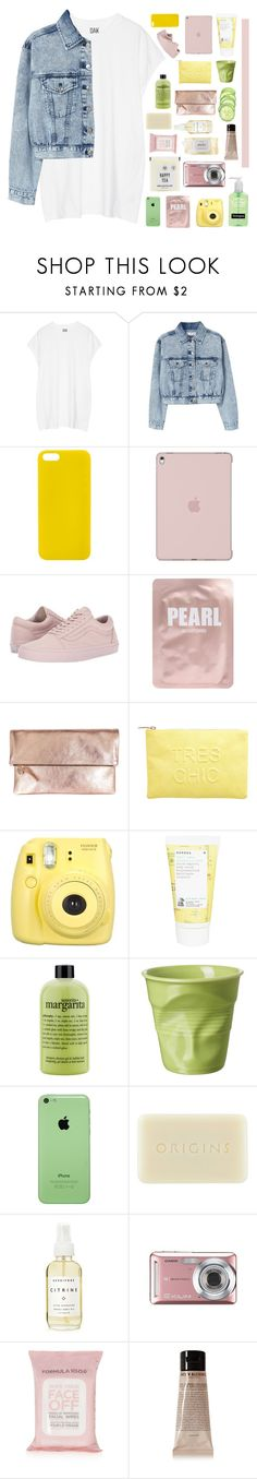 """""""i could be your best friend"""" by midnight-shimmer ❤ liked on Polyvore featuring Oak, MANGO, Happy Plugs, Vans, Lapcos, Clare V., Miss Selfridge, Fujifilm, Korres and philosophy"""