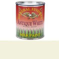 Antique White Milk Paint, Quart - Walmart.com