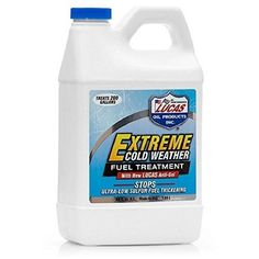 Lucas 10021 Extreme Cold Weather Diesel Fuel Treatment - 64