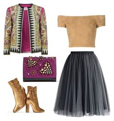 """""""Set12"""" by irinalc on Polyvore featuring Etro, Gianvito Rossi, Chicwish, Alice + Olivia and Christian Louboutin"""