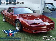 The primary objective for the 3rd generation of Pontiac Firebirds was saving on fuel. As long as fuel efficiency was the focus, it wasn't possible to have high horsepower and torque numbers—(little did Pontiac know that by 1989 the fastest American car on the market would be a Firebird.) This1987 Pontiac Firebird GTA was our Cool Ride of the Week!