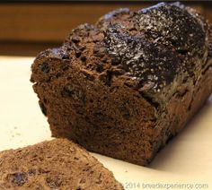 """""""No Knead Chocolate Spelt Prune Bread""""- I might have to try this sometime, but maybe with dried cherries instead of prunes. Chocolate Bread Recipe, Prune Recipes, Dried Prunes, Spelt Bread, No Knead Bread, Unprocessed Food, Dried Cherries, Grain Foods, Artisan Bread"""