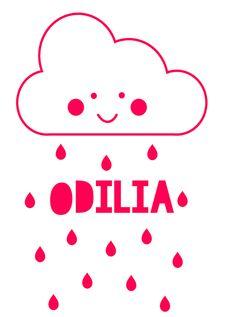 Geboortesticker type Odilia