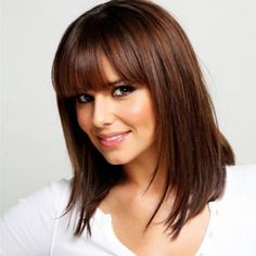 Medium Hairstyle with Bangs 2013 | Teen Hairstyles For Medium Length Hair - Medium Length Hairstyles For ...