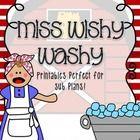Miss Wishy Washy - NO PREP - perfect for sub plans! Buzz Into Kinder