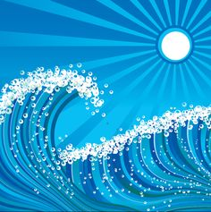 Quick Tip: How to Create a Stylized Wave using Adobe Illustrator (via vector.tutsplus.com)