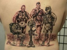 63 Best Military Tattoos Images Military Tattoos Army Tattoos